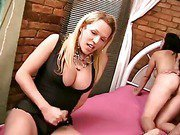 shemale in a dreamy sex action with a couple