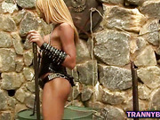 Kinky Mistress Playing Solo
