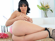 Tranny sex kitten Danika Dreamz awesome masturbation show