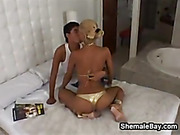 Shemale Beauty Getting Pounded
