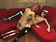 Cute hentai shemale nurse hot bareback fucked