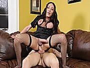 Big tits tranny Mia Isabella anal banged