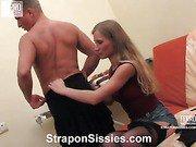 Diana&Adrian vivid sissysex action