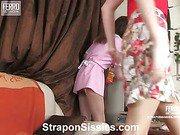 Jess&Randolph strapon sissysex video