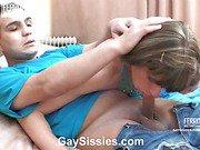 Bobbie&Hugo kinky gay crossdresser video