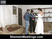 patricia_sabatiny&senna just married shemale duo