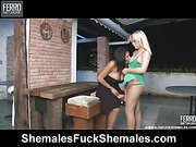 Lorena&Thais screened while 69 sucking
