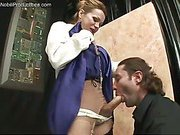 art dealer seduced by shemale n suck her big cock