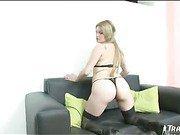 big tit blonde shemale solo scene