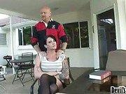sexual shemale Morgan Bailey banged 1