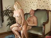 perky tit blonde shemale nailed by a bald guy 4