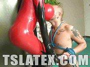 Latex Clad TS Diva Camila Klein