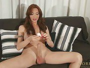 Mariana Cordoba plays her super size cock