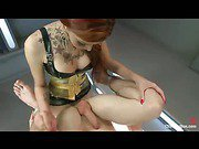 red hot compilation of shemale domination