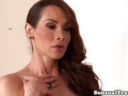 Stunning transsexuals spitroasting bloke stiff