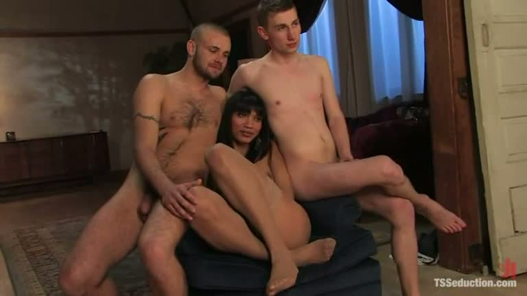 Black Cock Anal Threesome
