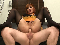 Ladyboy Nanny Bareback Anal Sex