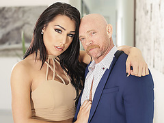 Hot ts Chanel Santini makes pussy cum for several times