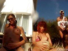 Eva Lin, Mandy Mitchell, Foxxy, Dustin Revees, Morgan Bailey, Cherry Torn, Tameka clip2