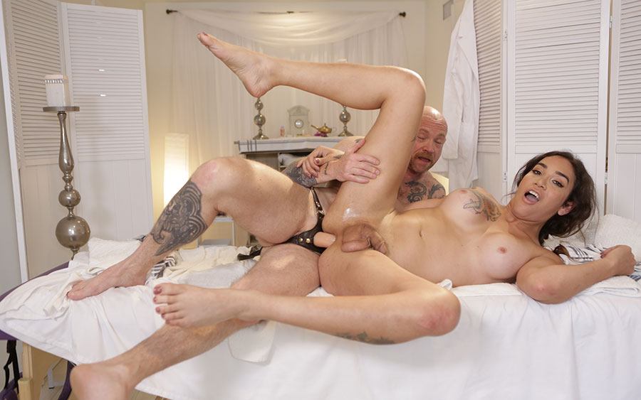 Regret, that Male to female buck angel porn