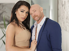 Buck fucks hard and sucks huge cock by Trans babe Chanel