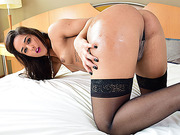 TS Felipa is getting her ass penetrated by her new lover
