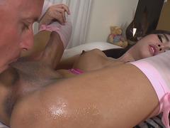 Asian Tgirl Cutie Layla E Gets Buttfucked