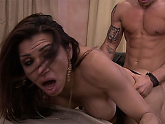 Ex girlfriend latina shemale got rough fucked for goodbye
