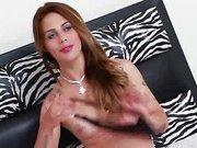 Carla Cardille sensuallly stripping