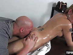 Hot shemale anal with anal cumshot