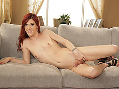 TS Stefanie Special gets fuck by her stud lovers hard cock