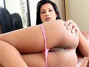 Sexy shemale Gabriela De Carvalho fucked