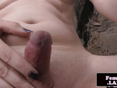 tiny tittied transitioning femboy outdoor