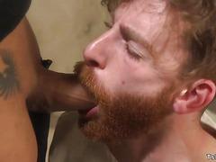 Huge dick black tranny anal bangs patient
