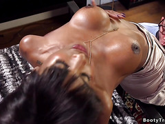 Black tranny anal bangs tattooed guy