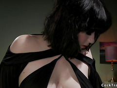Shemale fucks sexual out of control babe
