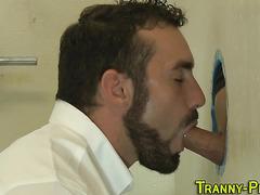 tranny sweetie rides dick