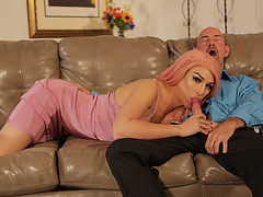 Hunk old guy Smith loves to fuck Sexy Tranny Chanel Santinis assholes so deep
