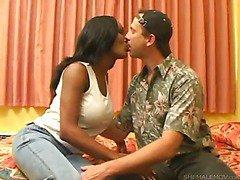 hottie big tit ebony shemale 4play scene