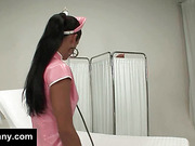 Tranny nurse seduces patient