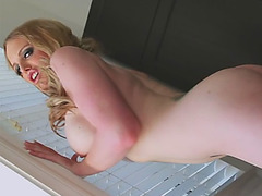 Sexy tranny Nadia showing off her body