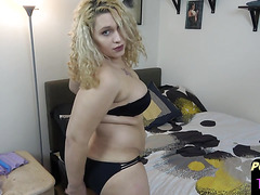 Post op BBW masturbates with sextoy