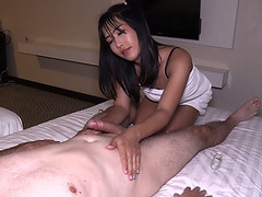 Ladyboy Masseur Meme Seduces Customer