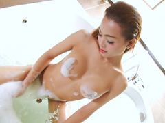 Asian Ladyboy Sammy B Loves To Jerk Off