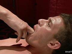 Domme shemale anal bangs handsome dude