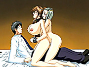 Chains hentai bigboobs threesome shemale fucked