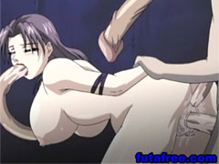 Two hottie hentai dickgirls bang each other