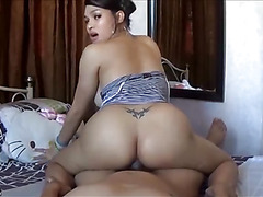 TS Filipina Busty Shemale Get Fucked Bareback