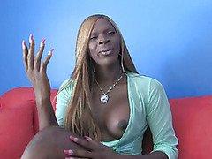 big tit black shemale posing her hot body
