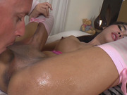 Cute Asian Shemale Layla E Gets Fucked Hard